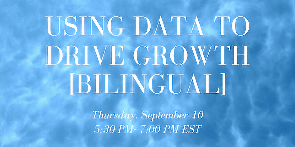 Using Data To Drive Growth [Bilingual]