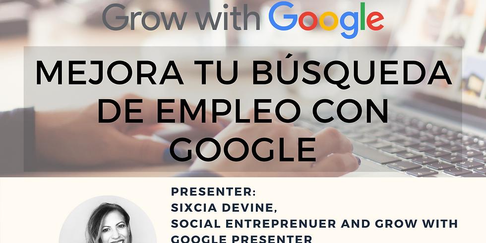 Mejora tu búsqueda de empleo con las herramientas de Google