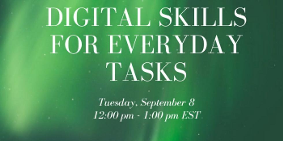 Digital Skills for Everyday Tasks