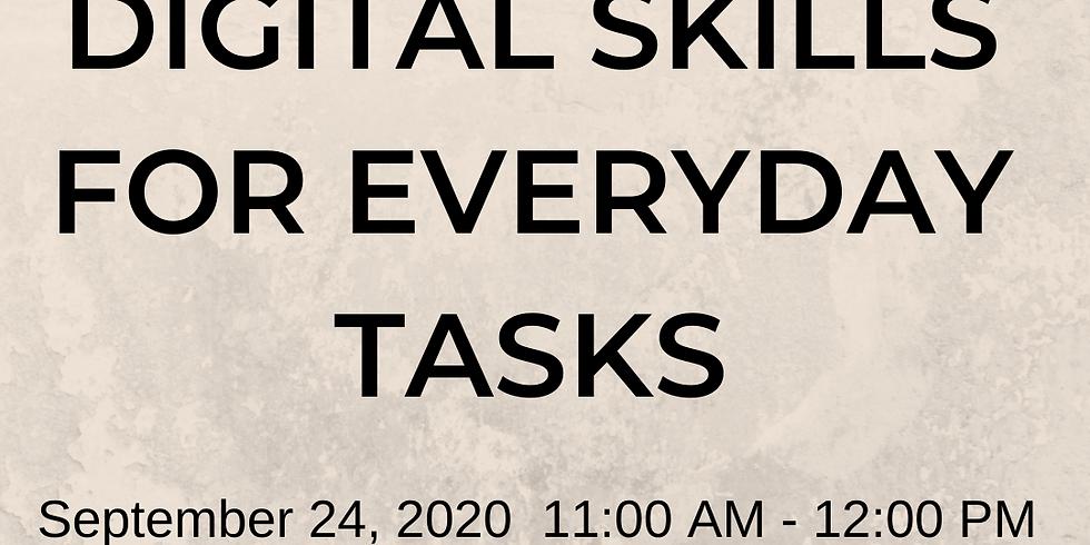 VIRTUAL - Google Digital Skills for Everyday Tasks