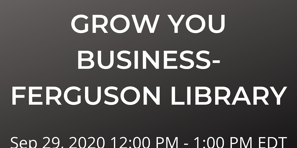 Use YouTube To Grow You Business- Ferguson Library