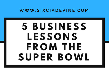 Five Business & Life Lessons Learned From Super Bowl 51