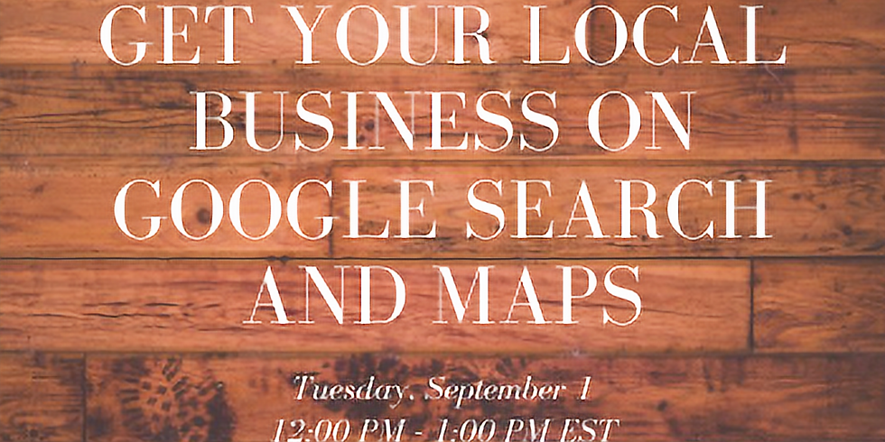 Get Your Local Business on Google Search and Maps
