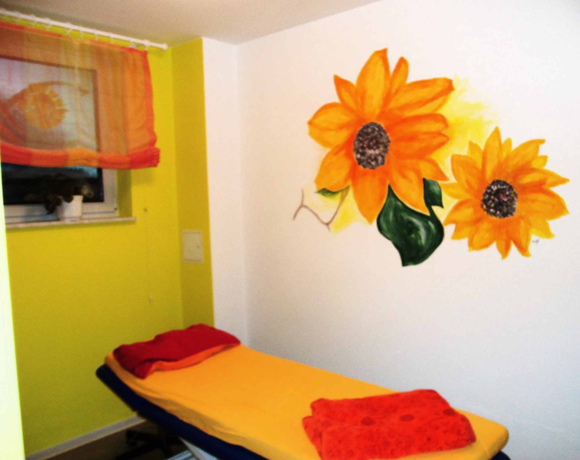 Behandlungsraum Sommer's Physiotherapie in Niederau