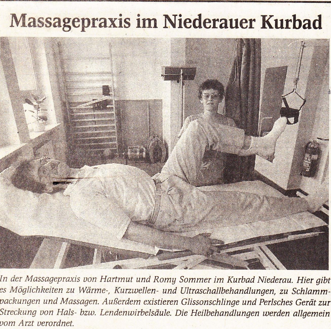 Sommer's Physiotherapie in Niederau hat eröffnet