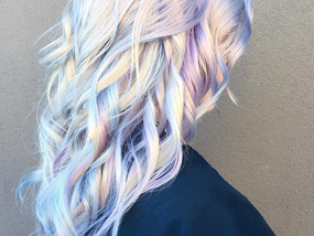 2017's Best Hair Trend? Holographic Hair