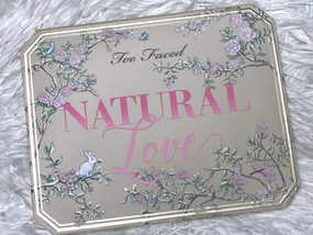 Too Faced Natural Love Eyeshadow Pallete | Review & Swatches