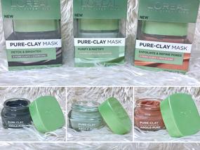Product Review | L'Oréal Pure-Clay Masks