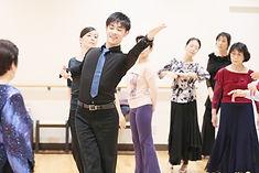 社交ダンス団体レッスン ダンススタジオモーメント 京橋 社交ダンス教室