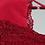 Thumbnail: Jersey negligé met rood kant