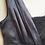 Thumbnail: Antraciet kleurige zijden negligé met kant