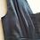 Thumbnail: Petrol kleurige zijden negligé met kant