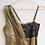 Thumbnail: Goud kleurige zijden negligé met kant