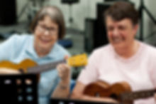 Thursday Ukuleles group for seniors