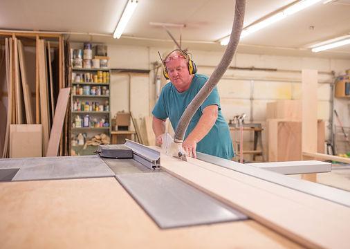 Greg Davis doing Custom Woodwork