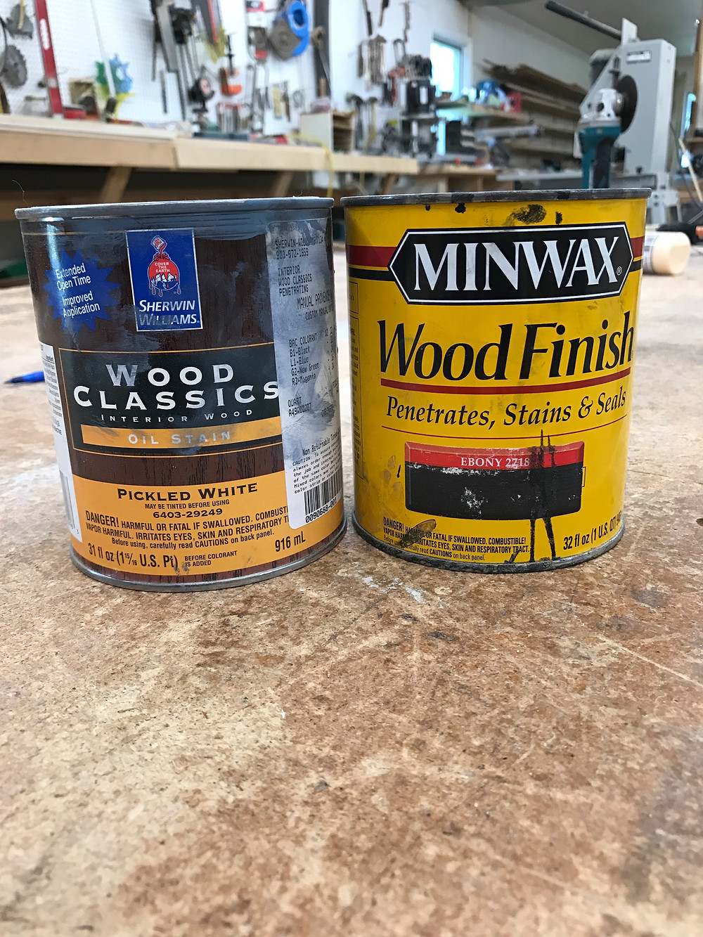 Stain Recipe for Deep Navy Stained Cabinets