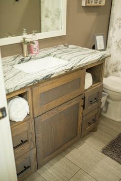 Client Design, Bathroom Vanity