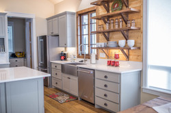 Custom Kitchen with Open Shelving