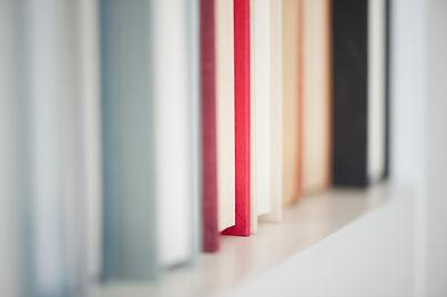 선반에 책