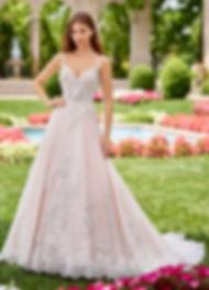 A line wedding dress in San Antonio