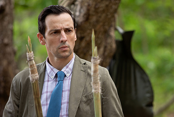 Ralf Little DEATH IN PARADISE still