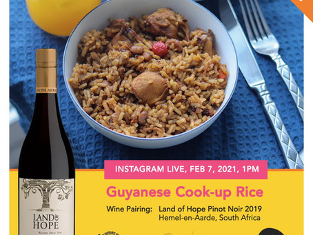 Vinequity and Flavours of Guyana Talk Food and Wine Pairing