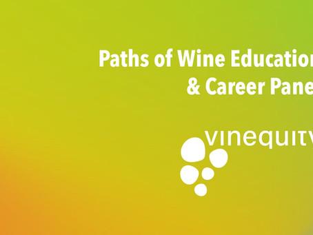 Webinar Recording: Paths of Wine Education & Career Panel
