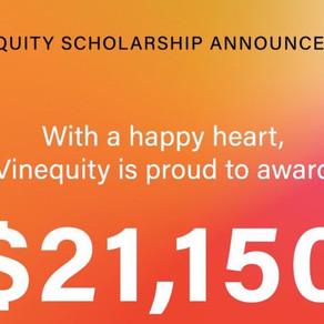 Vinequity Scholarships Awarded