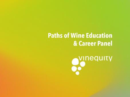 Paths of Wine Education & Career Panel
