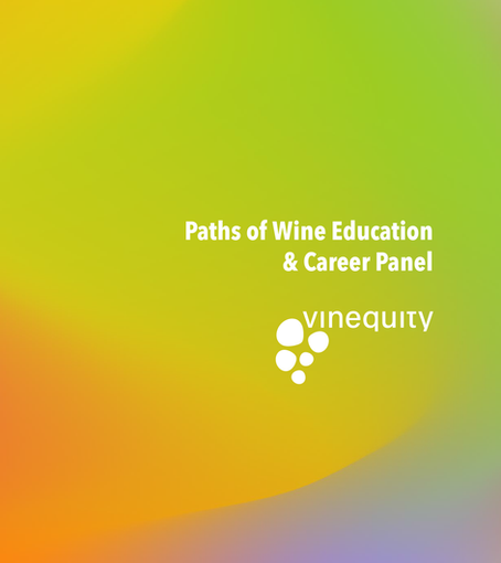Paths of Wine Education & Career Panel