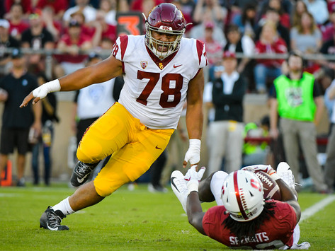 Video Preview | #28 USC: Jay Tufele and the run defense