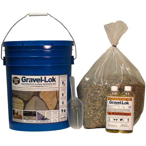 Gravel-Lok DIY Kit including Pebbles
