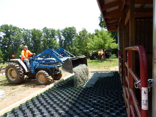 LSG for mud management on horse farm