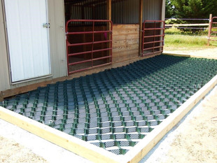 LSG for mud management on horse farm