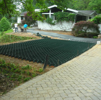 Load Support Grid for Turf Paving