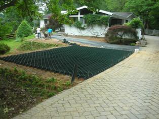 LSG for grassy overflow parking