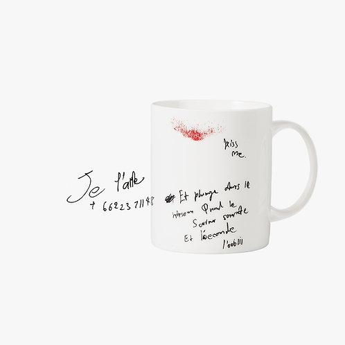 Doodle Mug - Je t' Aime