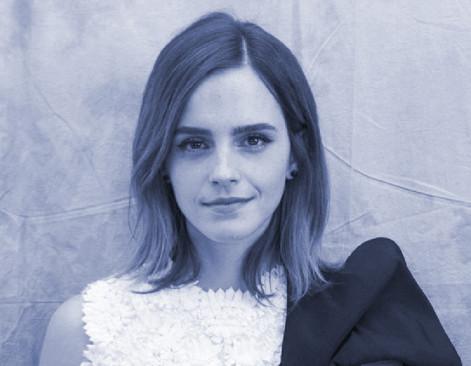 Emma Watson Is Hiding Books Around Paris.