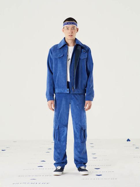 I Love My Life Headband - Blue = THB 690 Mission Corduroy Jacket - Blue = THB 6,200 Mission Corduroy Pant - Blue = THB 3,800