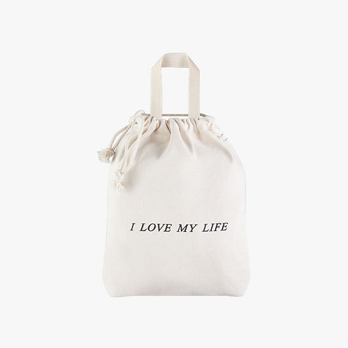 Drawstring - I love my life