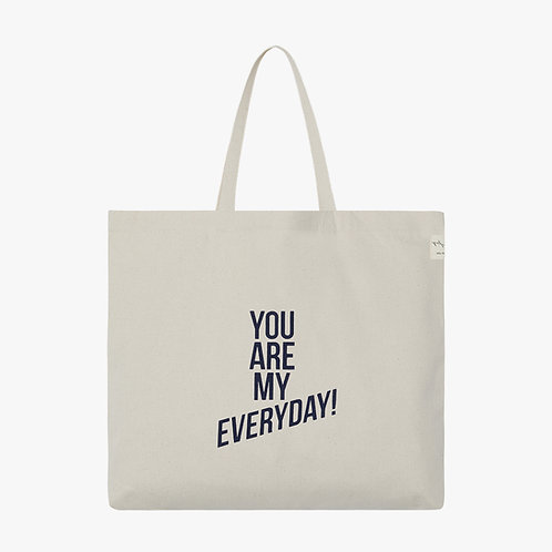 Dna Tote Bag - L- You are my everyday
