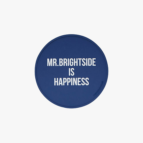 Dna Glass Coaster  - Mr. BrightSide is happiness