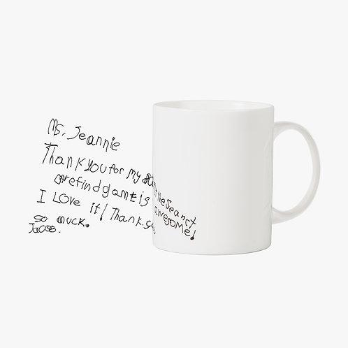 Doodle Mug - Ms. Jeanie