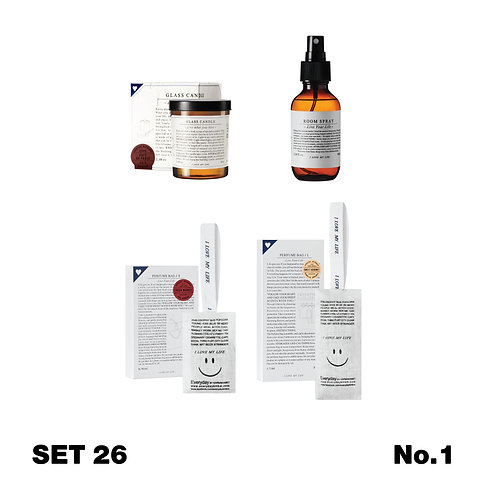 Set 26 / Everyday Scent Your Home #4