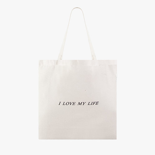 Dna Tote Bag - M - I love my life