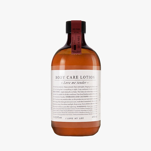 Body Care Lotion - Cafè de Paris - 450 ml.