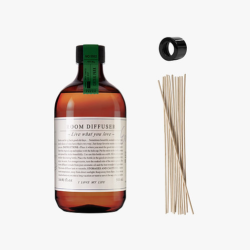 Room Diffuser Set - Central Park - 500 ml.