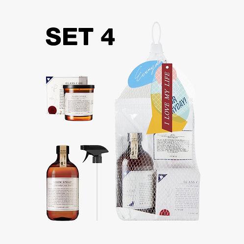 SET 4 Everyday Market Scent Your Home # 3 / Net Bag
