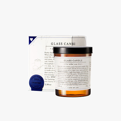 Glass Candle - Everyday (S)