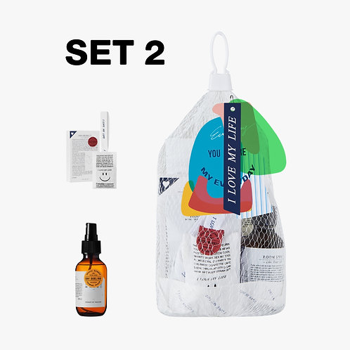 SET 2 Everyday Market Scent Your Home Set # 1 / Net Bag